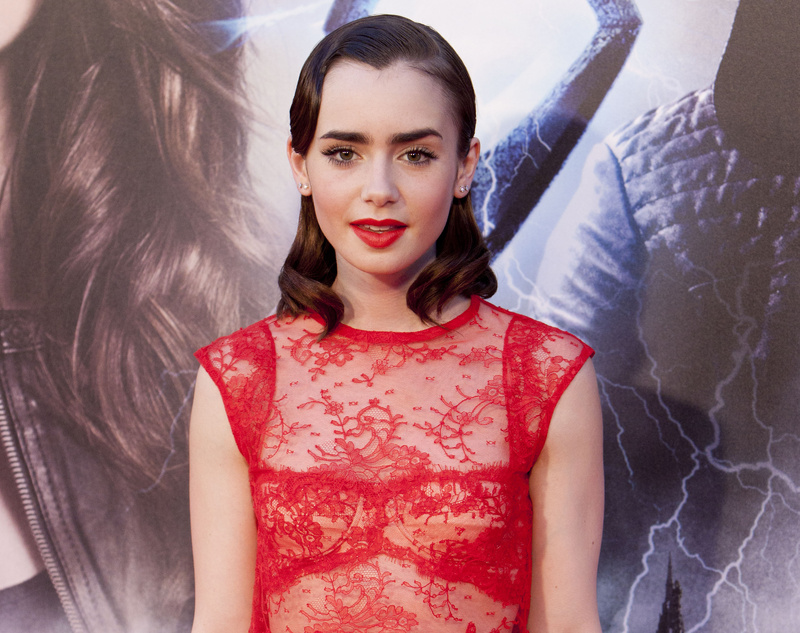 English actress Lily Collins has been ranked as the most dangerous celebrity to search for online.