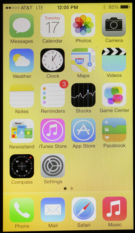 The new iPhone 5c and 5s come with the iOS 7 software, but it's available for free for many other Apple devices.