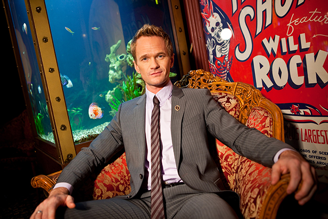 Neil Patrick Harris poses for a portrait at the Magic Castle on in Los Angeles. As the 41-year-old entertainer prepares to host the 65th Primetime Emmy Awards on Sunday, he talks to Associated Press about his magical past and present and plans for the future. He's actually magical, like in the abracadabra way, and has been since he was a kid.