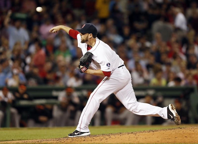 Boston pitcher John Lackey allowed Baltimore just two hits as the Red Sox prevented a series sweep by topping the Orioles 3-1 Thursday. Lackey struck out eight to pick up his 10th win.