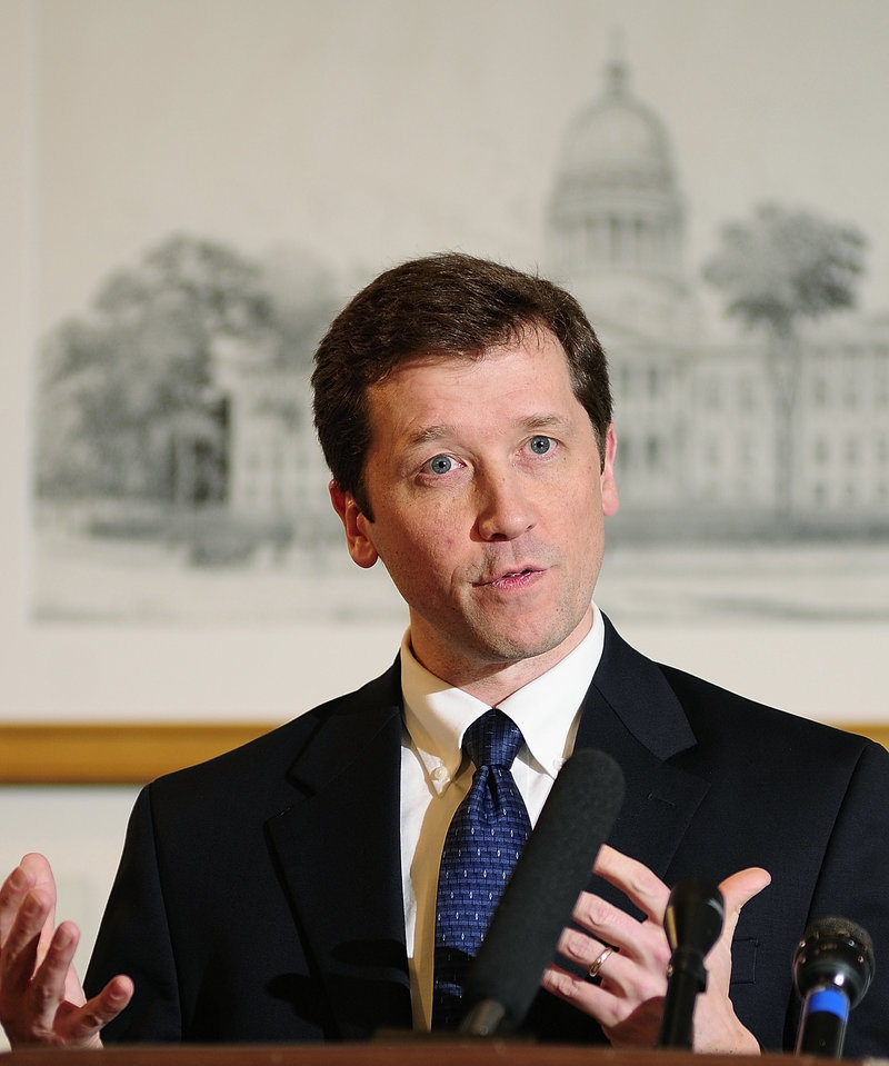 In this 2011 file photo, departing state education commissioner Stephen Bowen.