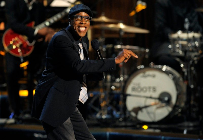 This Nov. 3, 2012 file photo shows Arsenio Hall performing at