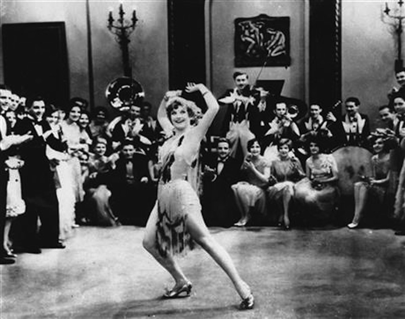 In this 1928 file photo, Actress Joan Crawford is seen dancing the Charleston in