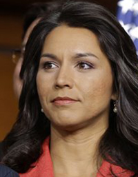 U.S. Rep. Tulsi Gabbard, D-Hawaii