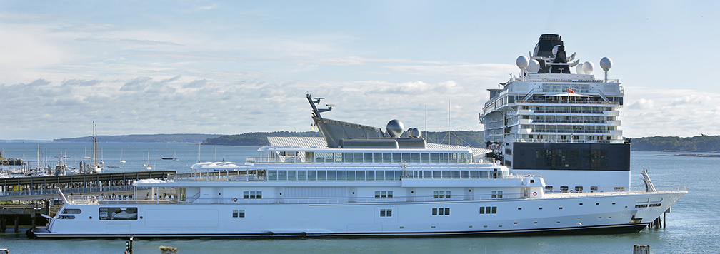 David Geffen's yacht Rising Sun is 453 feet long and reportedly cost more than $200 million to build.