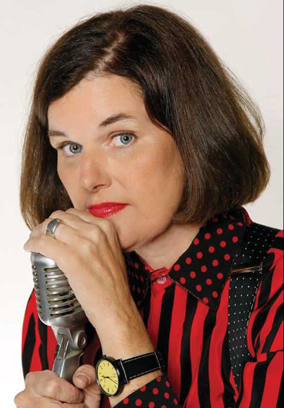 Funnywoman Paula Poundstone is at Jonathan's in Ogunquit on Saturday.