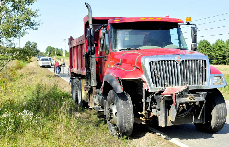 Walter Cowan, 84, of Anson was killed Tuesday after he was hit by a town of Starks dump truck driven by town employee Ronald Giguere, 71, of Solon, on state Route 43 in Starks.