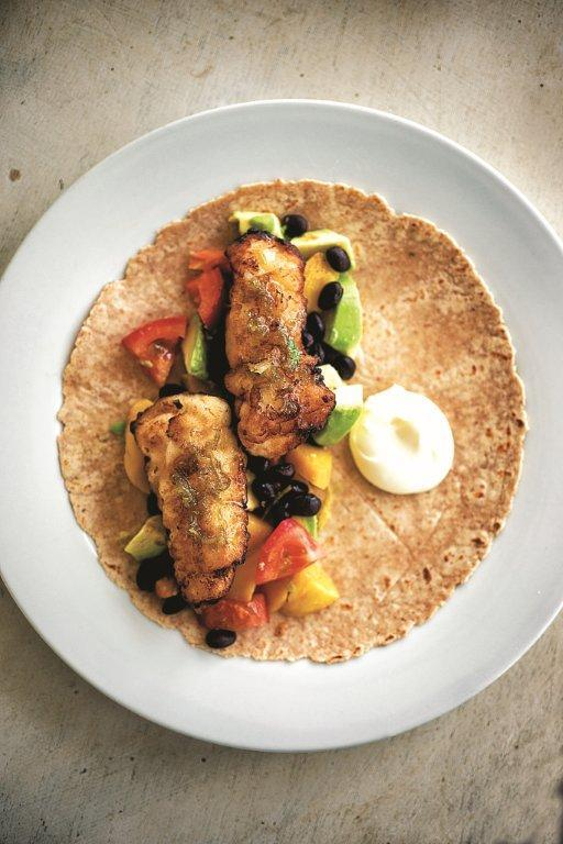 Nick Alfiero's fish tacos (Courtesy photo)