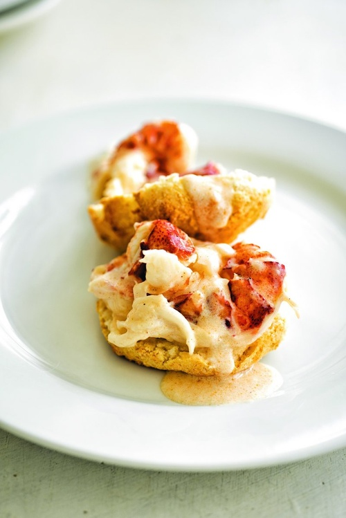 Lobster shortcake (Courtesy photo)
