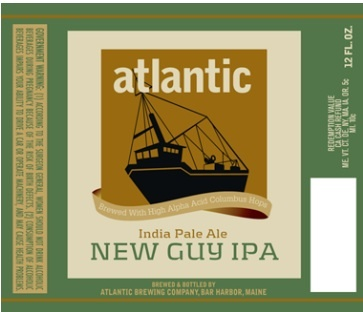 Atlantic Brewing's New Guy, introduced in 2010, is made with one kind of hops, Columbus, which has a citrusy flavor that is more subtle than the hops in most new IPAs.