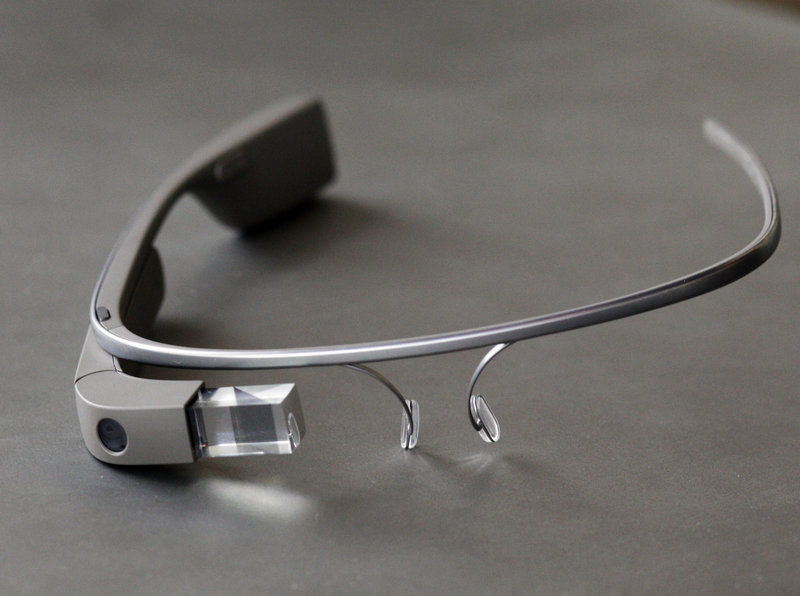 Google Glass offers video recording, photo and Internet capabilities while worn like a pair of glasses.