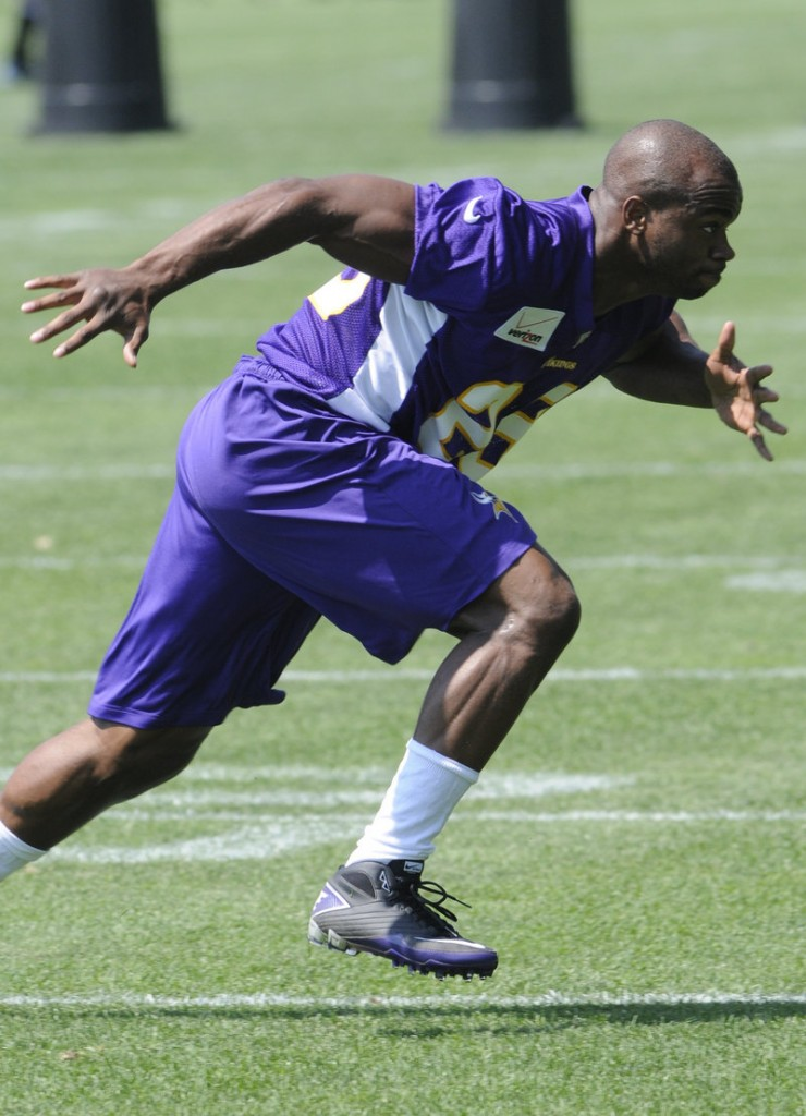 Vikings running back Adrian Peterson had ACL surgery after the 2011 season, but he was ready for the start of the 2012 season and rushed for more than 2,000 yards.