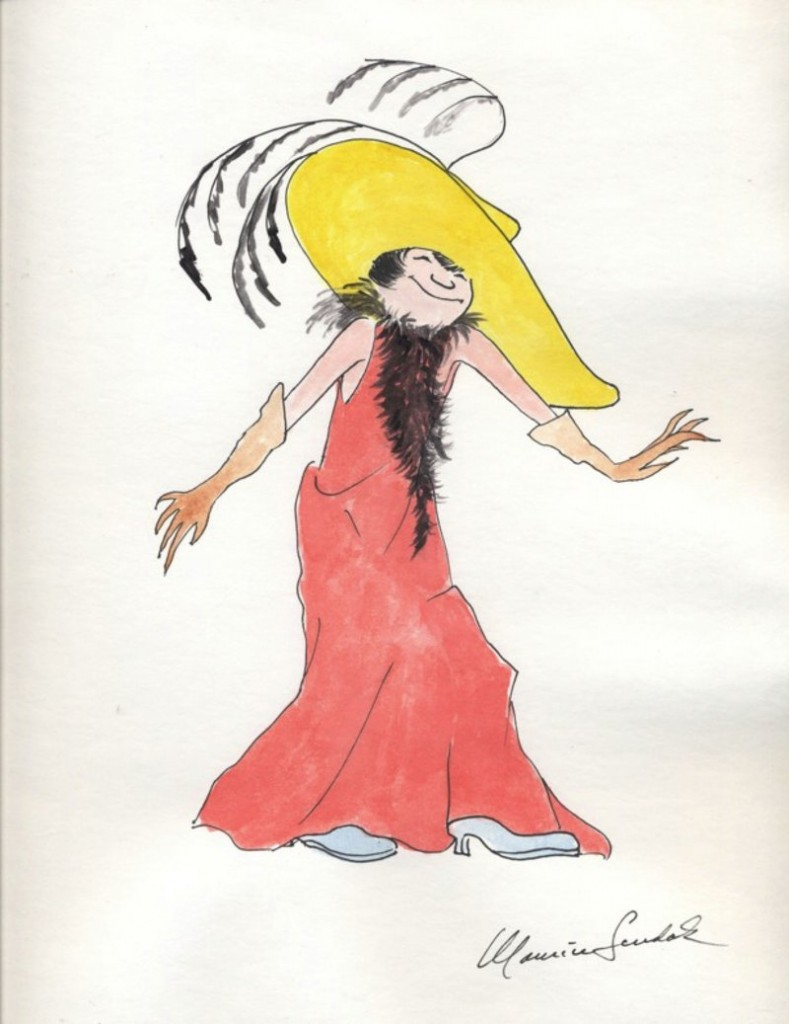 "Sendak's Rosie starred in the book ""The Sign on Rosie's Door"" and in the musical ""Really Rosie."""