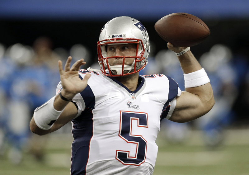 """Tim Tebow was cut by the Pats, but may return. """"Certainly we've had a lot of players who've left here and come back here,"""" said Bill Belichick."""
