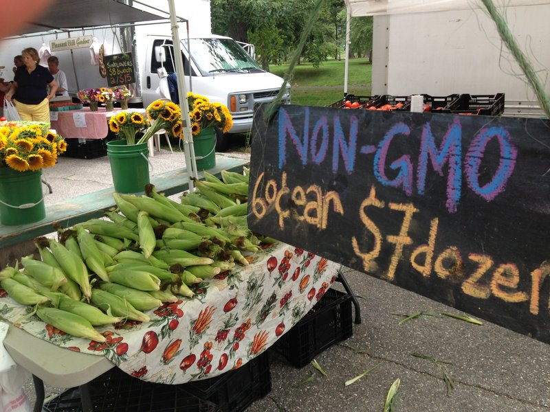 This summer, non-GMO labels sprouted up everywhere, from the farmers market to the grocery store. Recent laws passed by Maine and Connecticut, and under consideration in a number of other states, would require foods containing GMOs to be labeled.