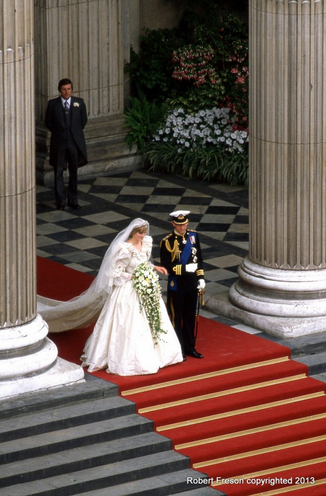 A Robert Freson photo: The wedding of England's Charles and Diana.