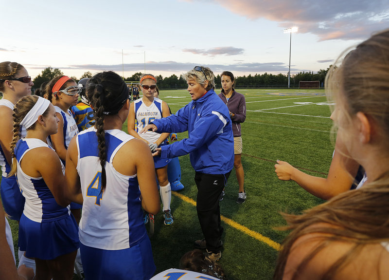 Falmouth Coach Robin Haley has an experienced team that should fare well during the regular season in the Western Maine Conference before facing a new set of opponents in the postseason.