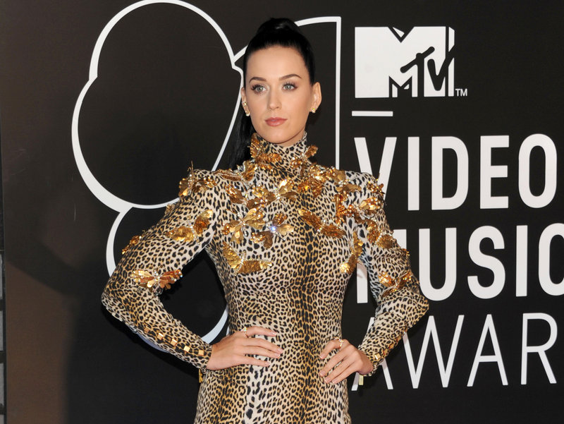 "Katy Perry is excited about her new album, ""Prism,"" which will be released Oct. 22."