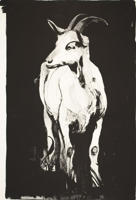 """Goat I,"" 1969, by Thomas Cornell"