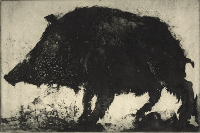 """Pig,"" 1960, by Thomas Cornell"