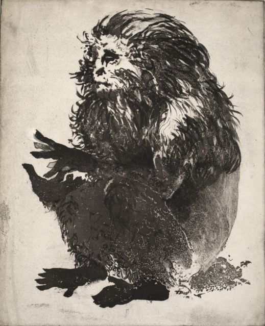 """Old Monkey,"" 1959-'60, by Thomas Cornell"