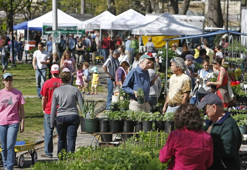A vendor at the Portland Farmers' Market at Deering Oaks wasn't happy to find the public bathroom doors locked recently.