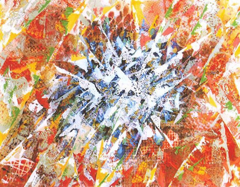 Abstract by Terry Seamon at Studio 53