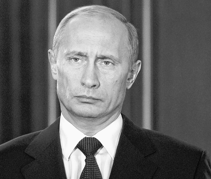 Russian President Vladimir Putin reflects the suspicions that many of his people have about American intentions.