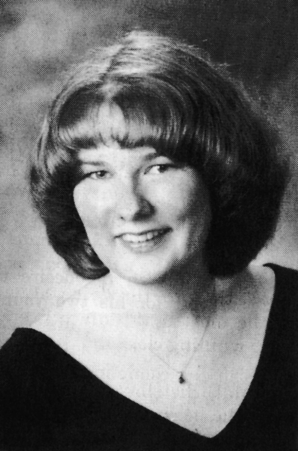 Dawn Rossignol in a Schenk High School yearbook photo from 2000.