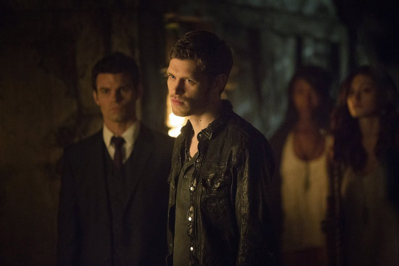 "Daniel Gillies, Joseph Morgan and Phoebe Tonkin in CW's ""Vampire Diaries"" spinoff, ""The Originals."""