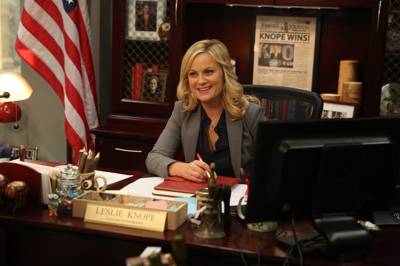 "Amy Poehler in ""Parks & Recreation."""