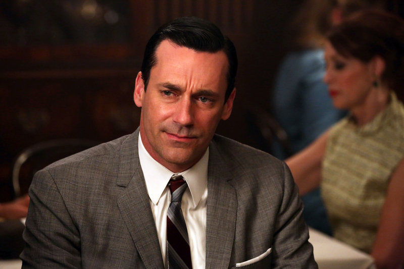 "Jon Hamm in ""Mad Men."""