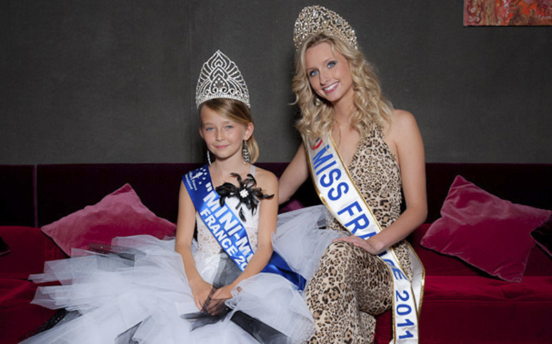 Oceane Scharre, Mini Miss France 2011
