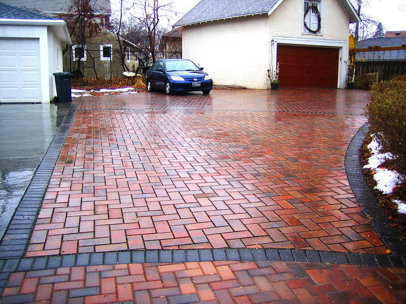 Driveway Pavers Paving Ideas Curb Appeal