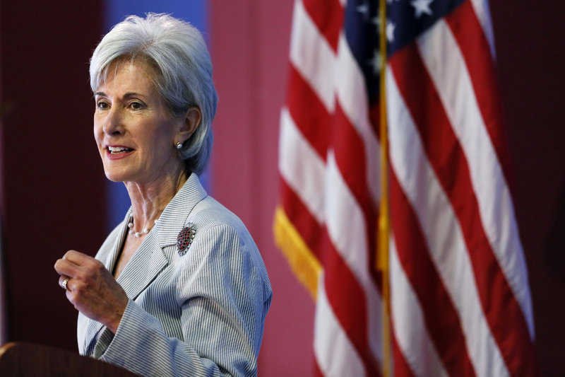 Health and Human Services Secretary Kathleen Sebelius said Tuesday that new health care exchanges will make insurance affordable for millions of Americans.