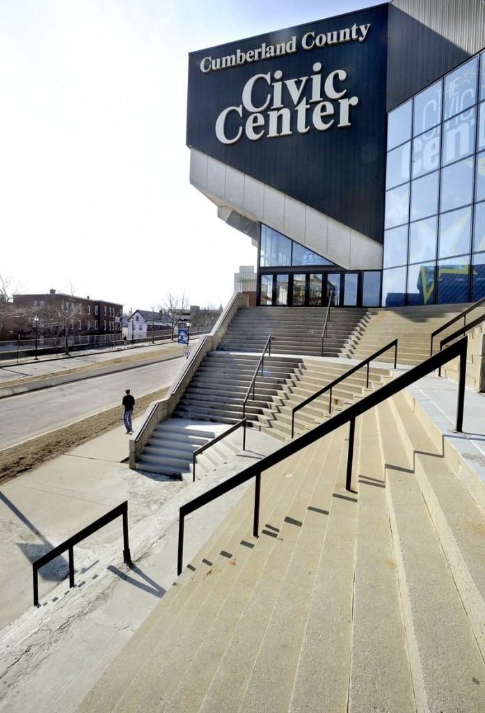 The Cumber;and County Civic Center is currently undergoing a $33 million renovation. But the Pirates and the civic center are locked in bitter negotiations over a new lease, which could lead to the Pirates playing their home games in Lewiston.