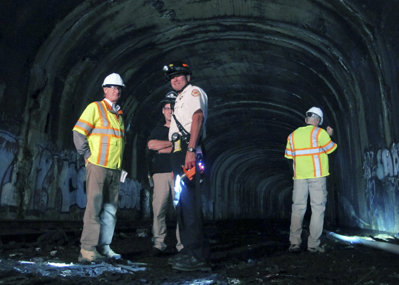 Old R.I. tunnel gets a second look - Portland Press Herald