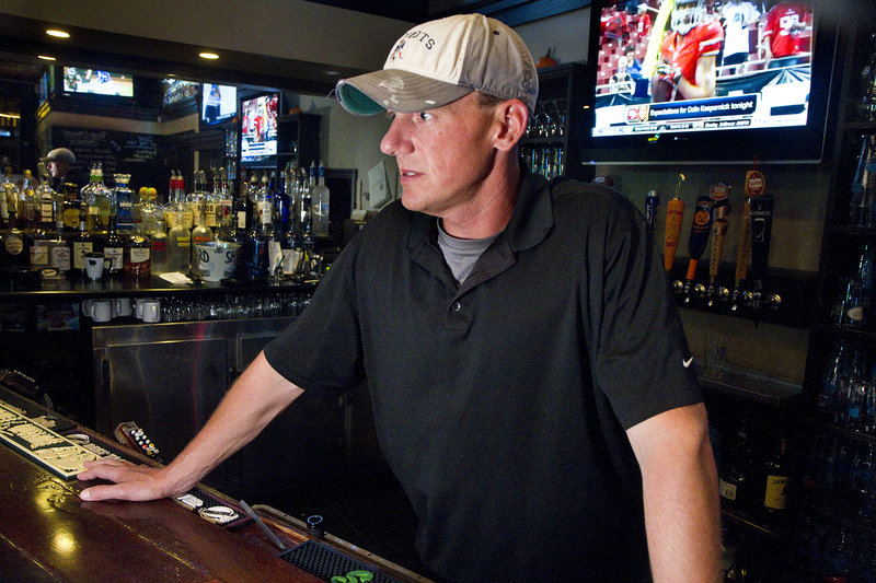 Downtown businesses, like Rivalries Sports Pub, have grown accustomed to serving hockey fans that were drawn to Portland to see the Piirates play during winter, a typically slow time of year.