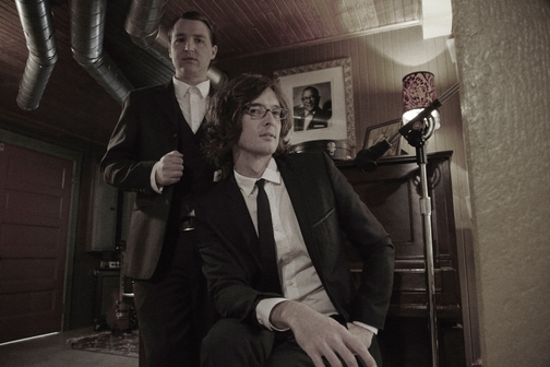 The Milk Carton Kids, aka Kenneth Pattengale, left, and Joey Ryan, have drawn comparisons to Simon & Garfunkel and the Everly Brothers.