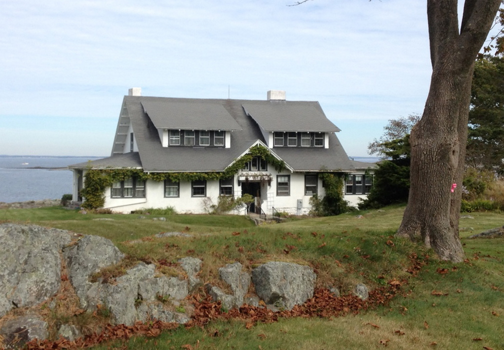 This house built by artist James Montgomery Flagg is in an exclusive part of the enclave of Biddeford Pool. Biddeford's Historic Preservation Commission this week approved a request by the owner, Robert Ittman, to demolish the 3,500-square-foot house and rebuild on the valuable site at 25 St. Martin's Lane overlooking the Gulf of Maine. The home contains massive murals by Flagg, which Ittmann has said he will preserve.
