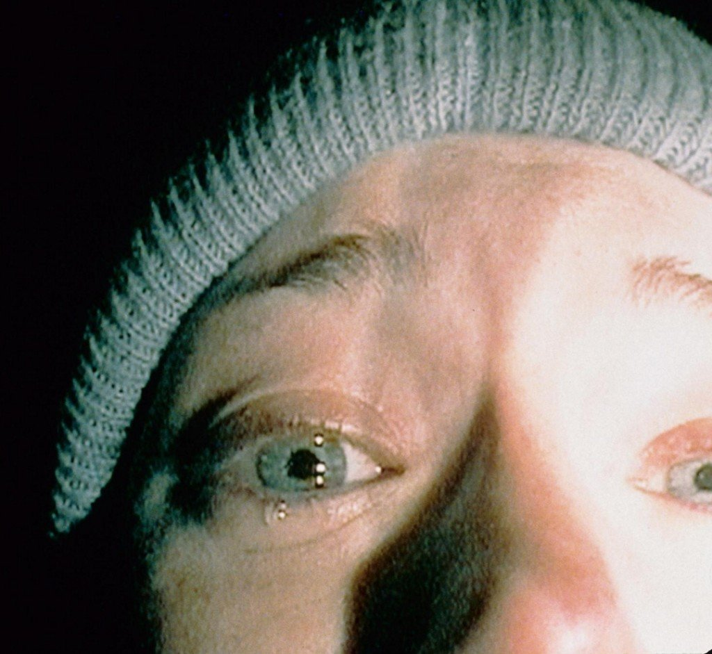 "Heather Donahue in ""The Blair Witch Project,"" the ending of which still has the power to shock 14 years after its release."
