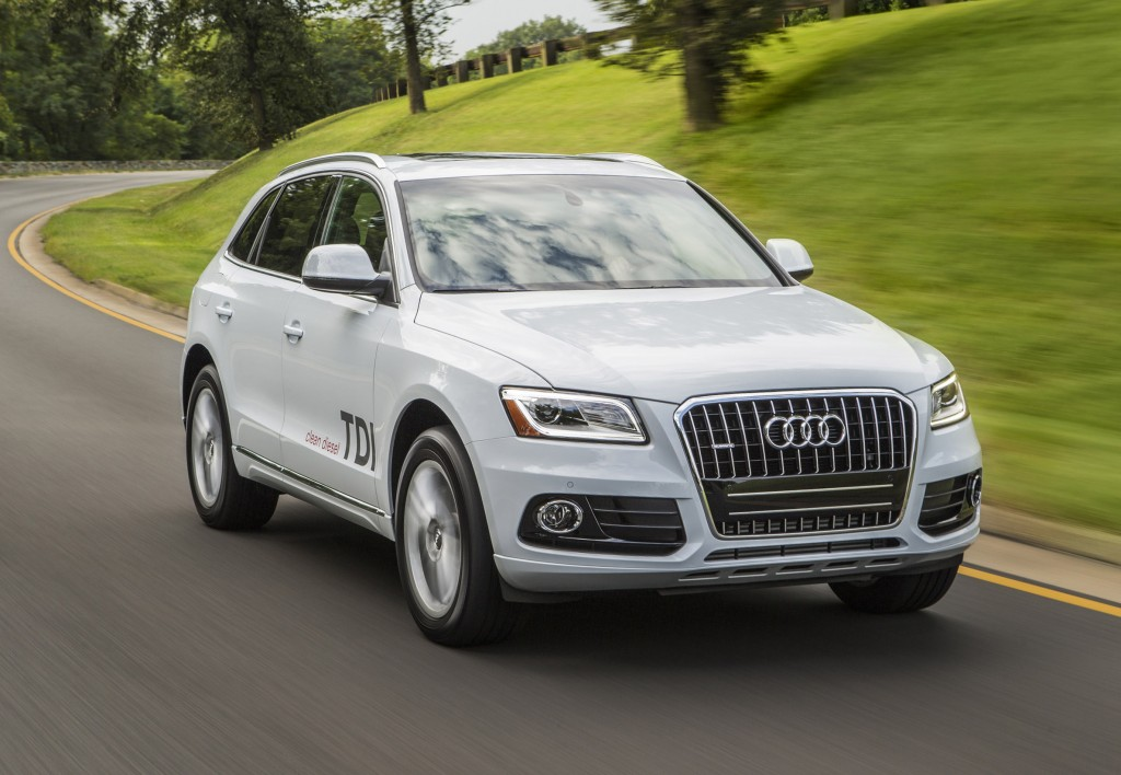 This undated image made available by Audi shows the 2014 Audi Q5 TDI.