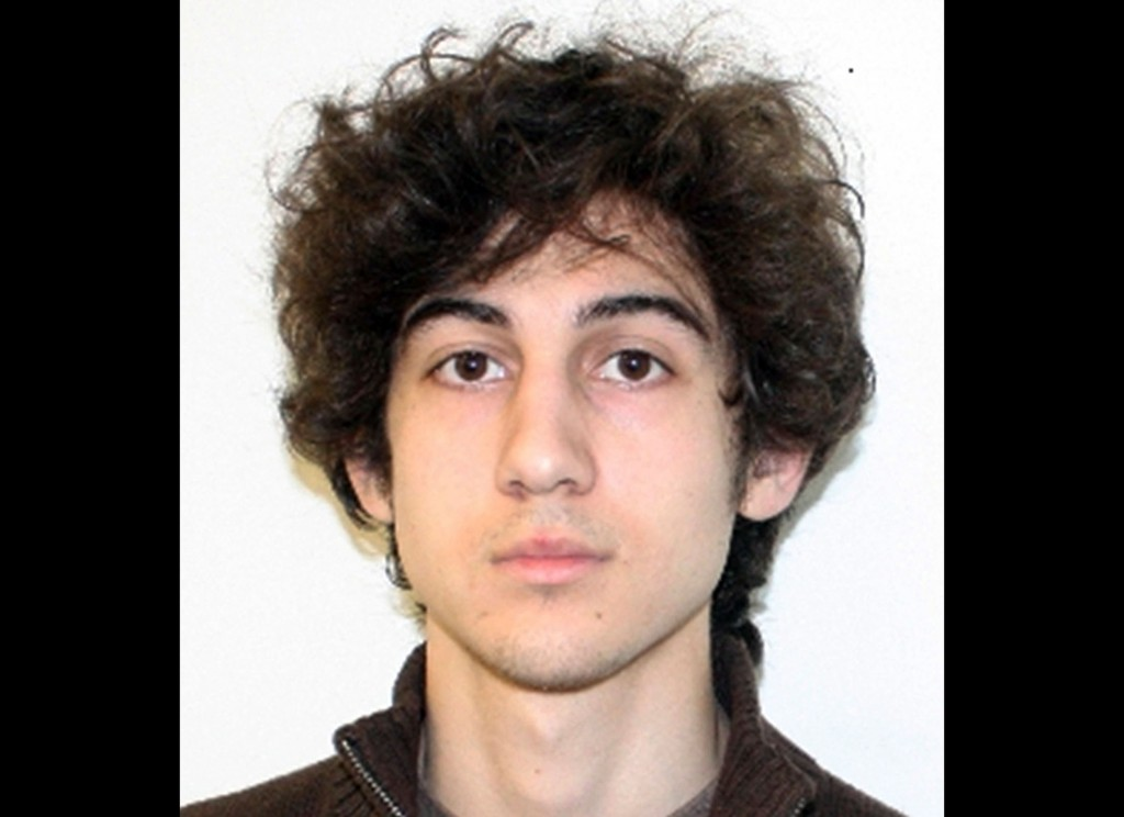 An undated photo provided April 19, 2013, by the Federal Bureau of Investigation shows Dzhokhar Tsarnaev, surviving suspect in the Boston Marathon bombings.