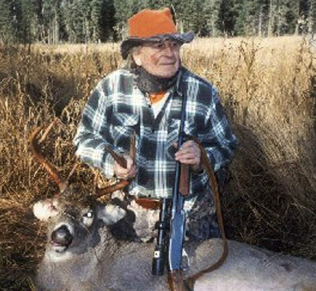 "Lanyard ""Larry"" Benoit created an empire of books, videos and seminars about deer hunting. His family said he shot at least 200 bucks. He died Tuesday at his home in Duxbury, Vt."
