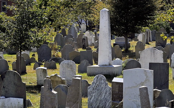Guided walking tours of Eastern Cemetery in Portland, sponsored by Spirits Alive, are held at 10:30 a.m. Saturdays and 1:30 p.m. Sundays and Wednesdays through Oct. 13.