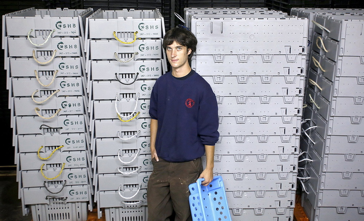 Kyle Murdock, president and CEO of Sea Hag Seafood, has won a national entrepreneurs award. The prize, awarded by the Hitachi Foundation, comes with a $40,000 grant.