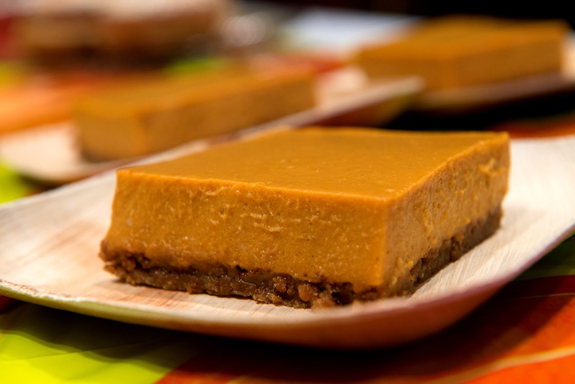 Pumpkin icebox pie by Emma Goltz was the first place winner in the 2013 Damariscotta Pumpkinfest dessert contest.