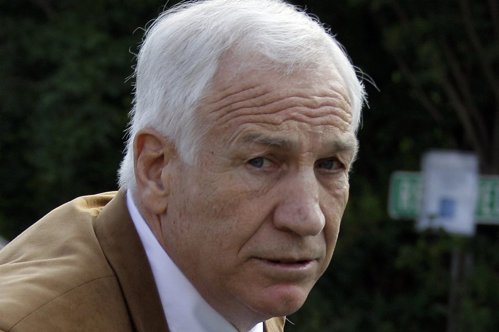 Former Penn State assistant football coach Jerry Sandusky, 69, is serving a 30-to-60-year prison sentence at a state prison in southwestern Pennsylvania.