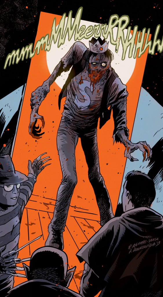 "This image released by Archie Comics shows the character Jughead from""Afterlife With Archie."""