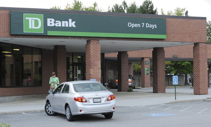 The TD Bank branch on Allen Avenue in Portland is one of 54 retail locations statewide. The bank is no longer headquartered in Portland.